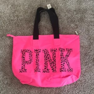 NWT zipper tote from Victoria's Secret Pink